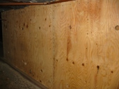 Structural    	grade plywood